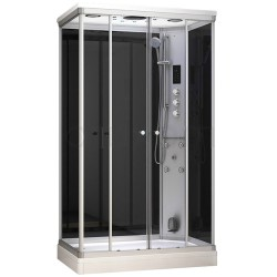 Kabina prysznicowa z sauną  EZ 610104  MILAN 120 x 80 x 217cm