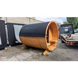 Sauna zewnetrza 2000 Ruska Bania 4 m
