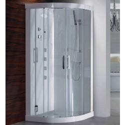 Kabina z sauna Dora 90x90