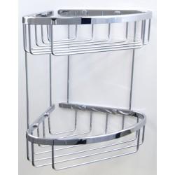 Półka koszyk rogowy pod prysznic (2PLY) A3-009