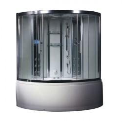 kabina z sauna i hydromasazem  DA324HF3 weiß 150x150