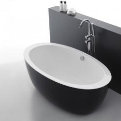 Wanna wolnostojaca DIANA black170 cm