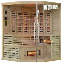 Sauna na podczerwień 150x150 cm  kwarcowe promienniki