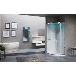 Kabina prysznicowa Eon R z hydromasażem  90X90 cm i opcja z sauną parową