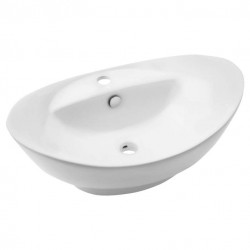 Umywalka ceramiczna nablatowa 60 cm Inv Carolyn otwór