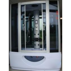 Kabina prysznicowa z sauna 165 cm z hydromasazem