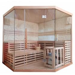 Sauna sucha z piecem  5 osobowa 200x200x200