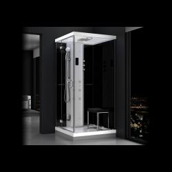 Kabina prysznicowa z sauną  EZ 610102  MILAN 100 x 100 x 217cm lewa