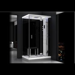 Kabina prysznicowa z sauną  EZ 610102  MILAN 120 x 90 x 217cm prawa
