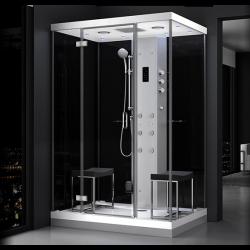 Kabina prysznicowa z sauną  EZ 610102  MILAN 140 x 100 x 217cm lewa