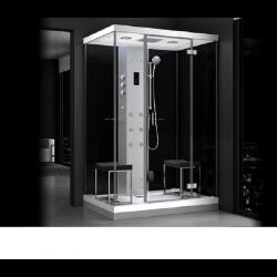Kabina prysznicowa z sauną  EZ 610102  MILAN 140 x 100 x 217cm prawa