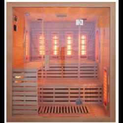 Sauna na podczerwień Janos 4-osobowa 180x160x210cm