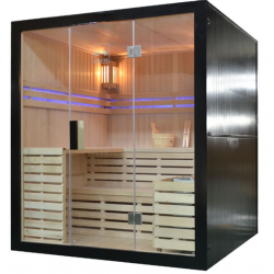 Sauna sucha z piecem  Harvia  4 osobowa 180 x160x201 cm
