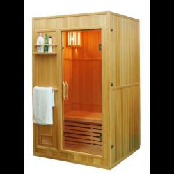 Sauna sucha z piecem  Harvia  2 osobowa 121x106x192 cm