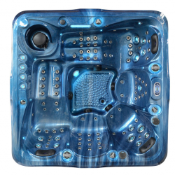 SPA JACUZZI OGRODOWE 5 OSOBOWE - 102 DYSZE  210x210x90cm