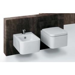 Zestaw Misa wc i bidet Prima rimless deska duroplast wolnoopadajaca