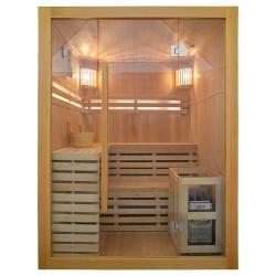 Sauna z piecem 150x150 cm