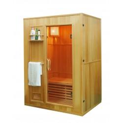 Sauna sucha z piecem HARVIA  3-osobowa 154x110x192cm