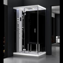 Kabina prysznicowa z sauną  EZ 610102  MILAN 120 x 90 x 217cm lewa
