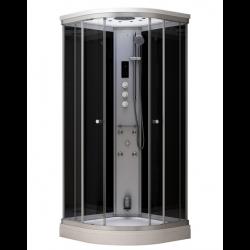 Kabina prysznicowa z sauną  EZ 610106  MILAN 80 x 80 x 217 cm