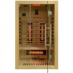 Sauna na podczerwień   2-osobowa 121x106x192cm
