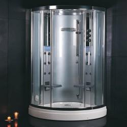 Kabina prysznicowa  z sauną parową  dla dwóch osób 120x120 cm