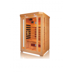 Sauna na podczerwień Ricco  2 osobowa 120x120x190 cm