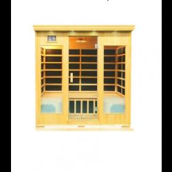 Sauna na podczerwień Ricco  4 osobowa 180x120x190 cm