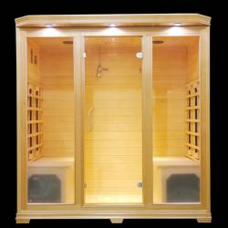 Sauna na podczerwień Remo  4 osobowa 180x120x190 cm