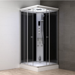 Kabina prysznicowa z sauną  EZ 610105  MILAN 90 x 90 x 217cm