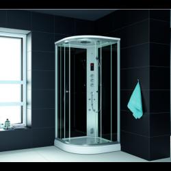 Kabina prysznicowa z sauną  EZ 610106  MILAN 100x100x217cm