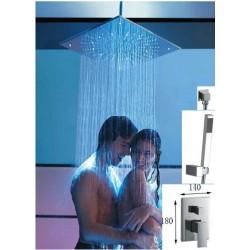 Zestaw prysznicowy FELICJANA deszczownica 40 cm
