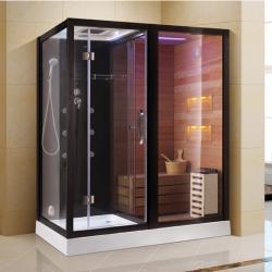 Kabina prysznicowa  Aleks  z sauną  suchą i parowa  180 x 110 x 223cm prawa