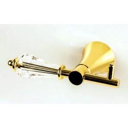 Wieszak na ręcznik w złocie pojedynczy DOLCE A5-Z1-16608