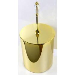 Kosz na śmieci w złocie DOLCE A5-Z1-16625