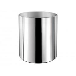 Kosz na śmieci tuba bez pokrywki chrom łazienkowy 19l  90614