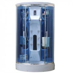 Kabina prysznicowa z hydromasażem Antonina  biala  100x100x220cm