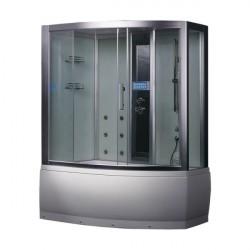 kabina z sauna  DA328HF8 weiß 150x100