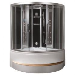 Kabina z sauna i hydromasazem DA324HF3-1 schwarz 150x150
