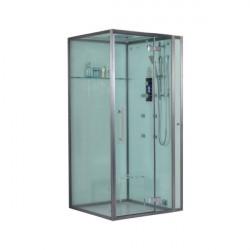 Kabina prysznicowa z sauna parową 100x100 cm DZ989F12 prawa i lewa