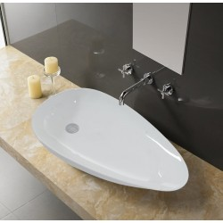 Umywalka ceramiczna Gata 75 cm