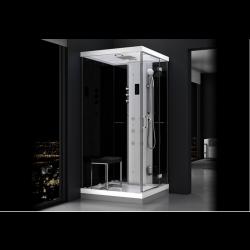Kabina prysznicowa z sauną  EZ 610102  MILAN 100 x 100 x 217cm prawa