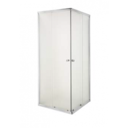 Kabina prysznicowa Parla szkło mrożone wymiar 90x90 cm