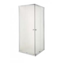 Kabina prysznicowa Parla szkło mrożone wymiar 80x80 cm