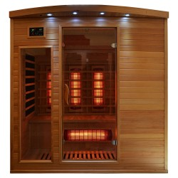 Sauna na podczerwień 4 osobowa 175x135x190 cm