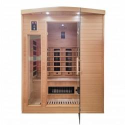 Sauna na podczerwień  3 osobowa  153x125