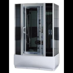Kabina prysznicowa  z hydromasażem i sauną parową  140 x 85 x 220m