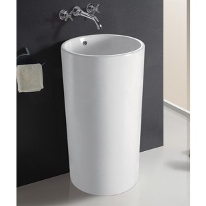 Umywalka ceramiczna stojąca Tera