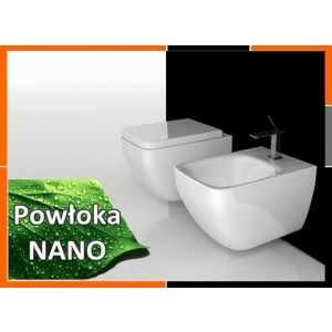 Zestaw Misa Wc z deską plus bidet model DEMONA