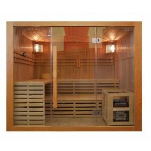 Sauna sucha z piecem    5 osobowa 200x180x200